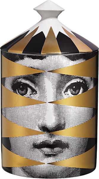 Fornasetti Losanghe Lidded Candle