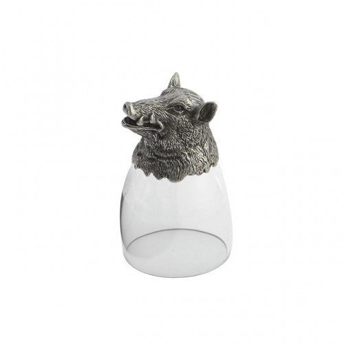 Animale Boar Liqueur Glass