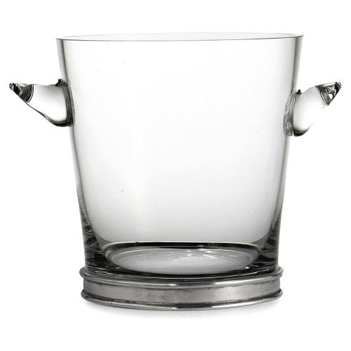 Taverna Glass Ice Bucket