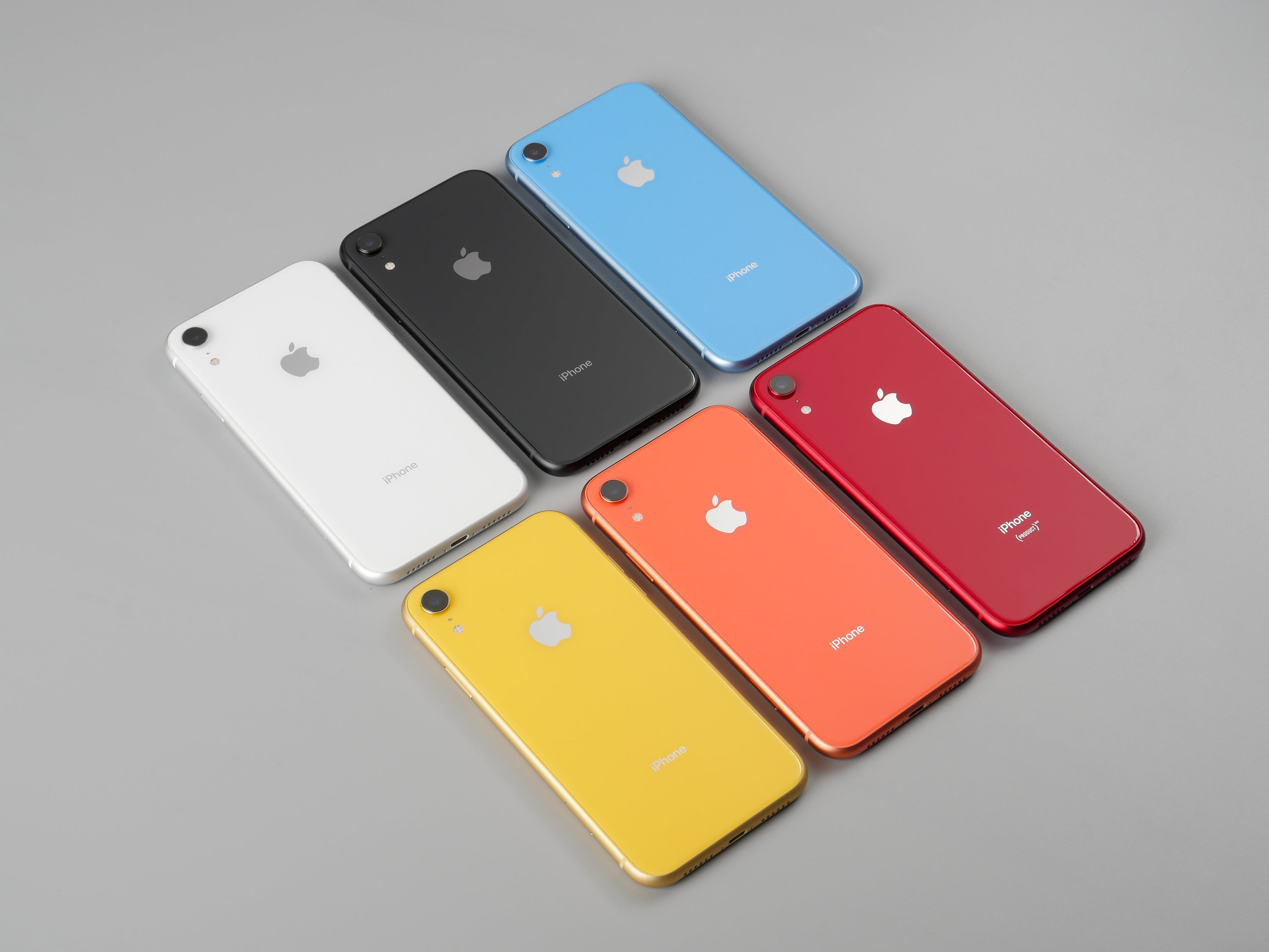 iPhone XR 全色六色開箱