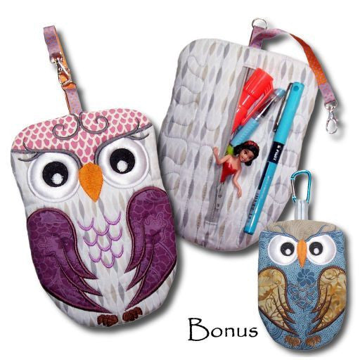 Animal Zipper Pouches