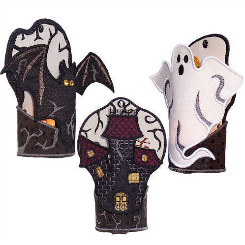 Halloween Tealight Holders