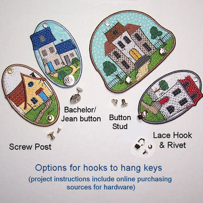 Little House Wall Hooks