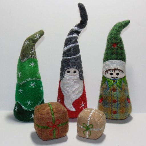 Christmas Stuffed Gnomes