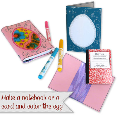 Easter Egg Notebook Cover