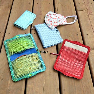 StitchSoup Machine Embroidery in the hoop Mask Wallets