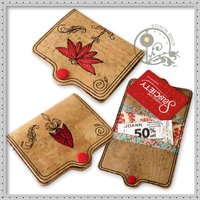 Boho Card Coupon Holder - StitchSoup