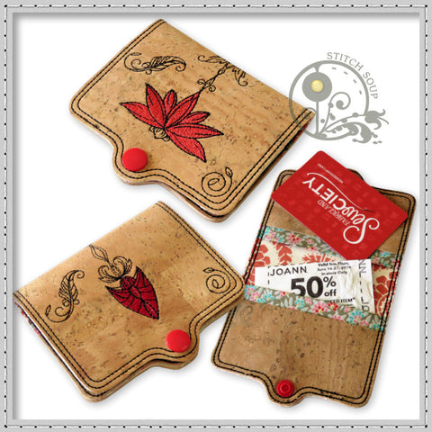StitchSoup Machine Embroidery Coupon Holder