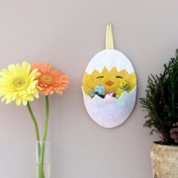 Easter Chick Egg Pocket