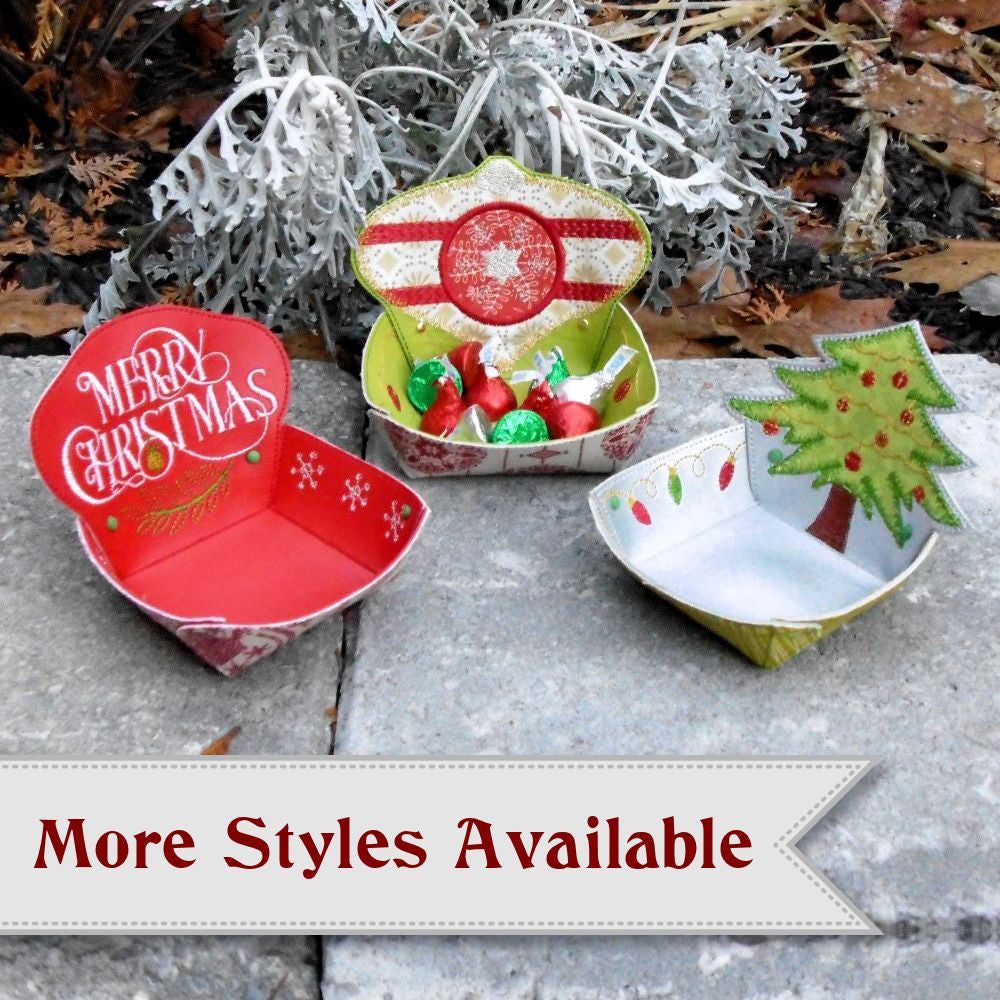 Christmas Ornament Candy Bowl