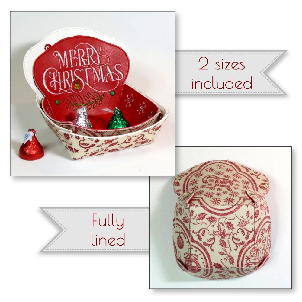 Christmas Candy Bowls