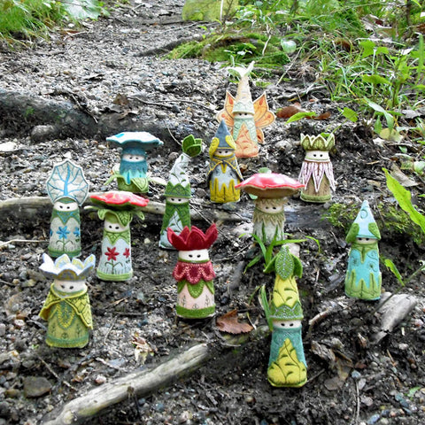 Forest Gnomes – StitchSoup
