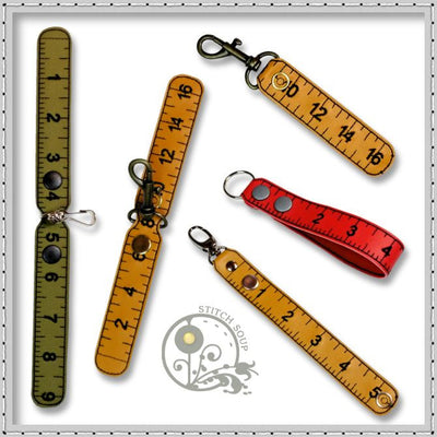 Measuring Tape Keyring