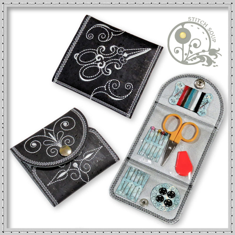 StitchSoup Machine Embroidery in the hoop ITH Pocket Sewing Kits