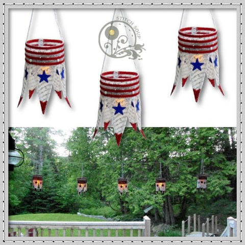 Stars and Stripes Lantern