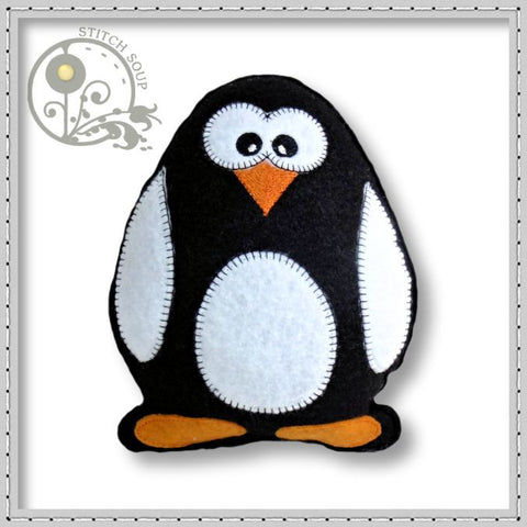 Stuffed Felt Penguin