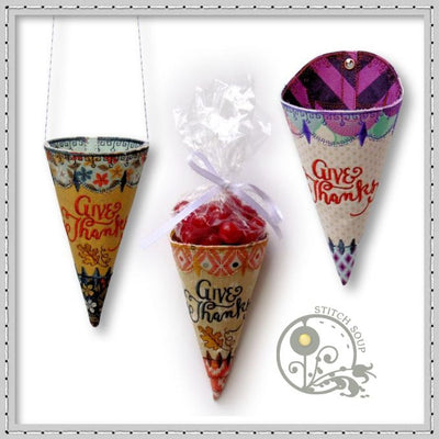 Thanksgiving Cones