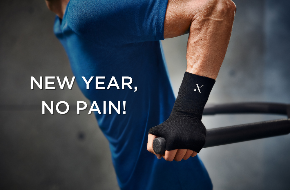New Year - No Pain, and Sticking to Your Resolutions!