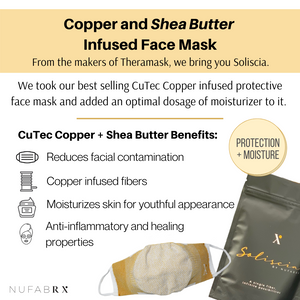 Load image into Gallery viewer, Soliscia Face Mask Infused with Copper and Moisturizer