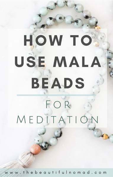 How to use Mala Beads for Meditation | Meditation for Beginners