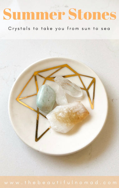 Summer Stones- crystals to take you from sun to sea