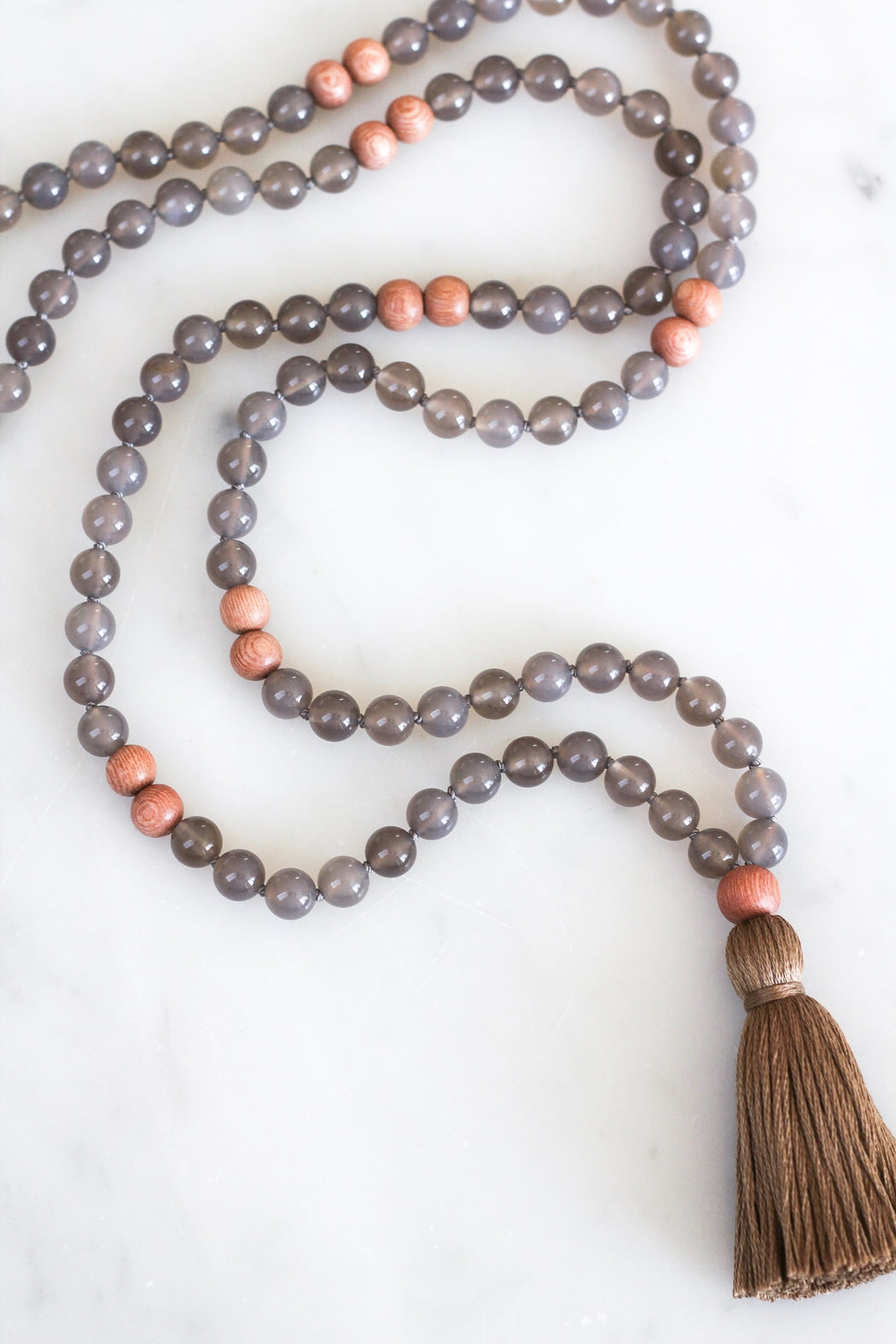 Agate Mala Necklace