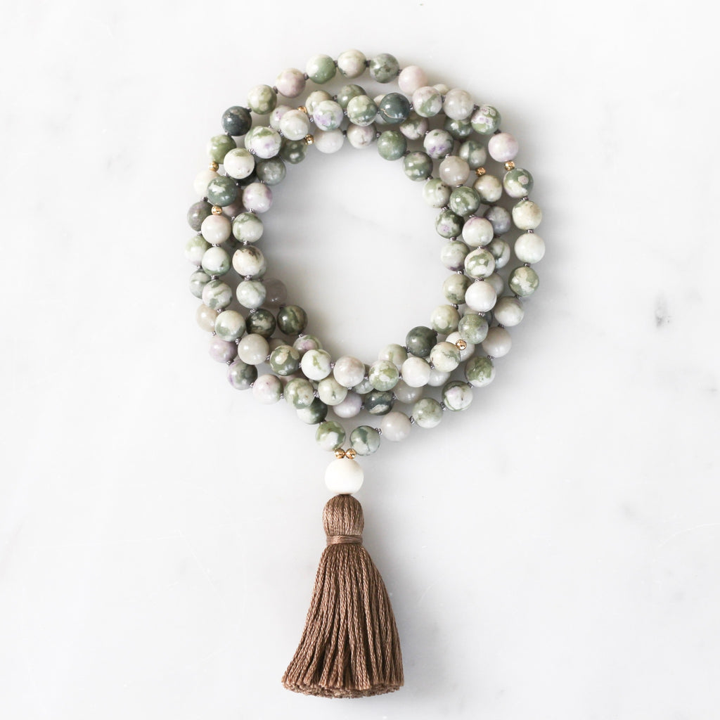 Peace Jade Mala Necklace
