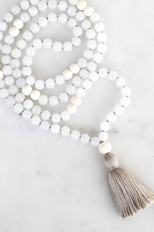 Quartz Mala Necklace