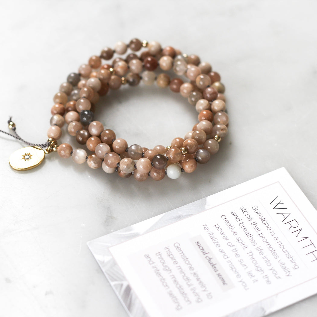 Warmth Mala Pendant Necklace