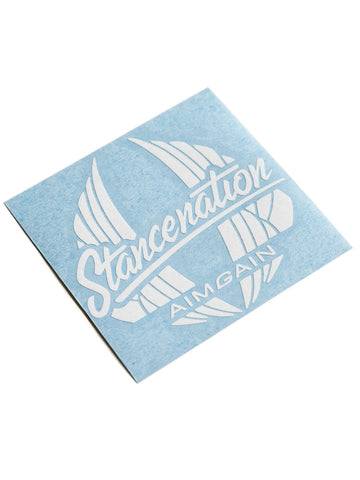 StanceNation x Aimgain Die Cut Sticker