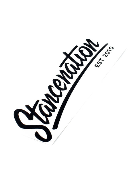 StanceNation Est. 2010 Die Cut Sticker