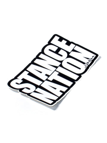 StanceNation.com Cut Out Sticker