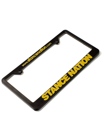StanceNation License Plate Frames