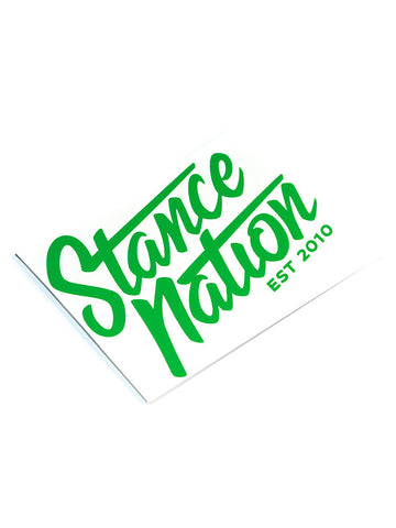 StanceNation Ver. II Die Cut Sticker