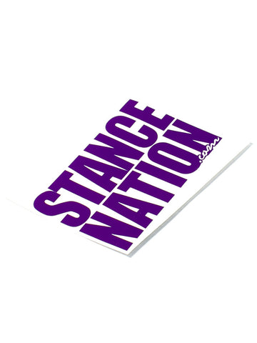 StanceNation.com Sticker