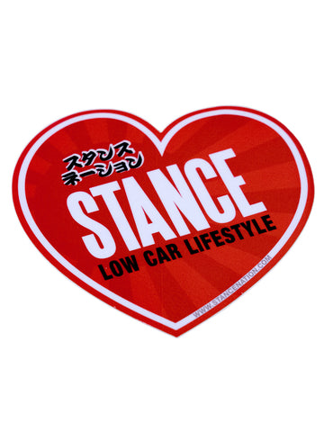Stance Heart Sticker