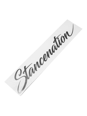 StanceNation Script Sticker