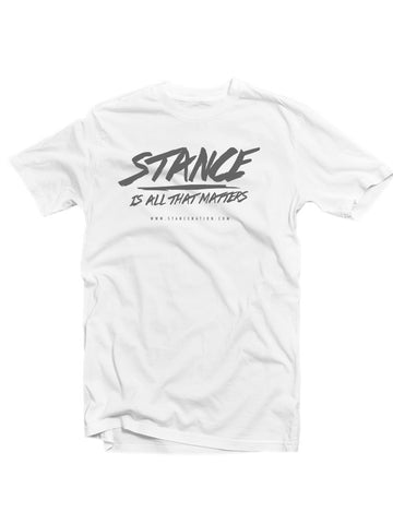 Stance is all that Matters T-Shirt Mens