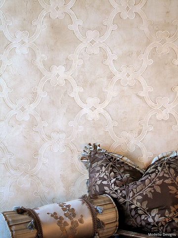 Faux Finish with Modello® decorative stencil