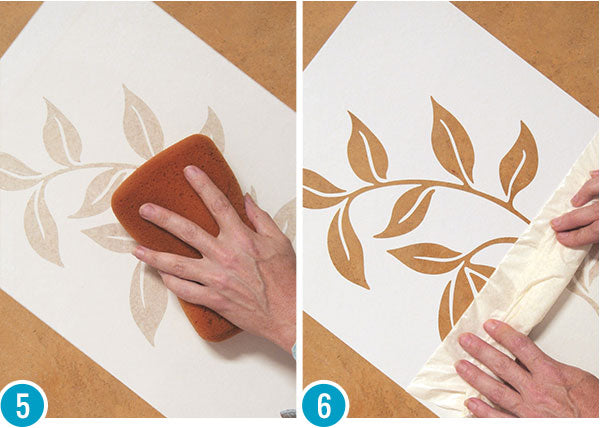 French Wall Finish Decorative Painting Tutorial with Custom Wall Stencils & Limestone Plaster