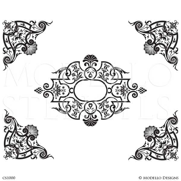 All page 4 modello designs for Moroccan coloring pages
