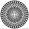 Old World Exotic Decor and Custom Ceiling Designs - Modello Medallion Stencils