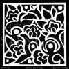 Art Deco Design and Painted Decor - Painted Tile Stencils from Modello Custom Stencils