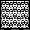 Large Tribal Stencils for Decorating Wall and Ceiling - Modello Custom Adhesive Stencils