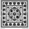 Ornate Leaf Vine Nature Designs Painted on Custom Floor Stencils - Modello Custom Carpet Panel Stencils