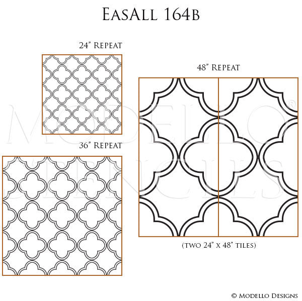 Trellis Grille Designs Painted and Stenciled on Custom Walls - Modello Designs