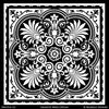 Classic Patterns or Exotic and Global Chic Decor Idea - Painted Tile Stencils Designs from Modello Custom Stencils