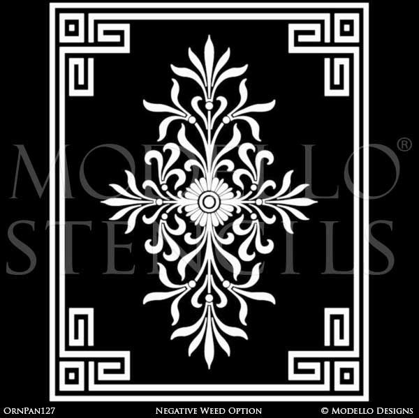 Custom Designed Wall Mural and Decorative Painting Ideas - Modello Custom Stencils