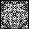 Designer Faux Tile Patterns to Paint on Walls and Floors - Modello Custom Stencils