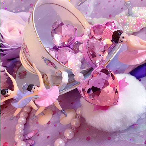 Princess Heart Rings - Ballerina